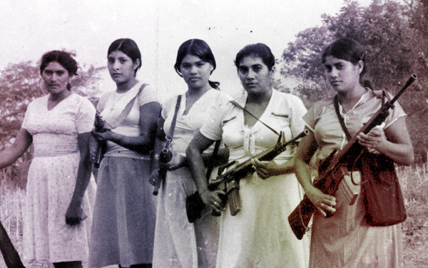 el salvador women guerrillas 207