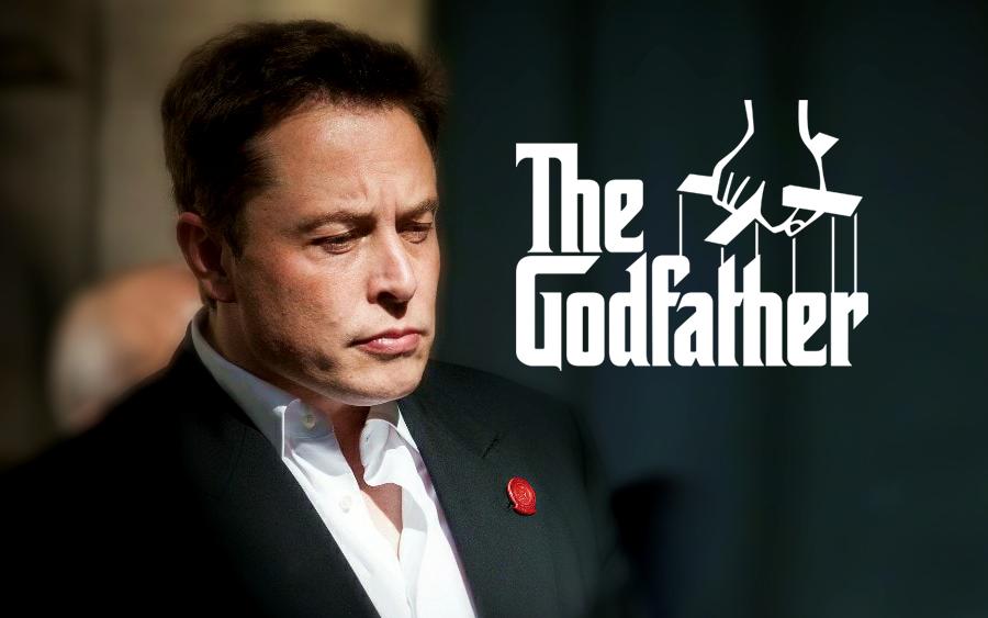 elon musk don corleone mafia the godfather