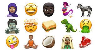 emoji baru yang dimasukkan pada tahun 2017