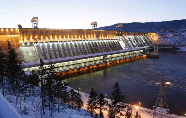 empangan krasnoyarsk empangan terbesar di dunia