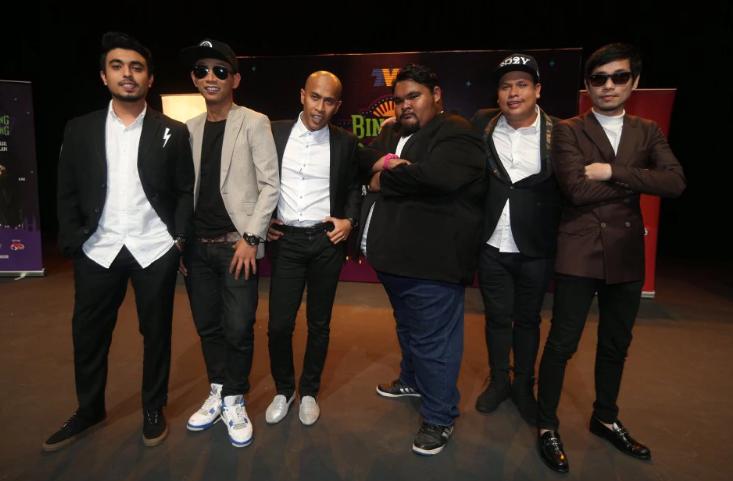 enam pelawak terkenal berentap dalam program realiti baru