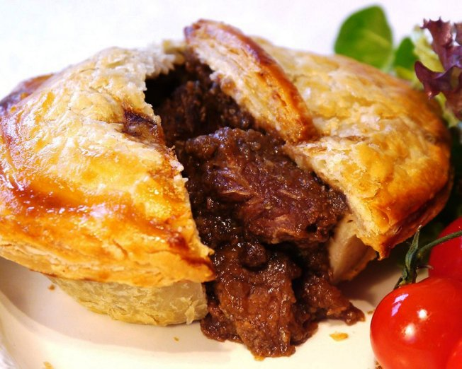 english wagyu beef pie