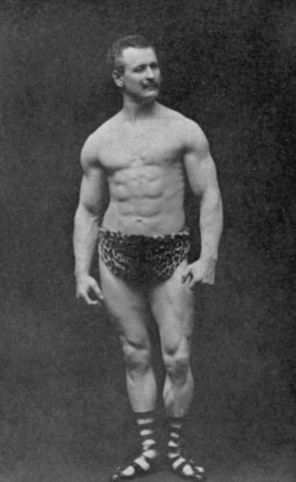 eugen sandow ahli bina badan pra steroid 352