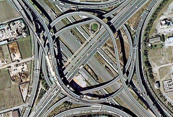 expressway 9 and interchange 6 tokyo japan