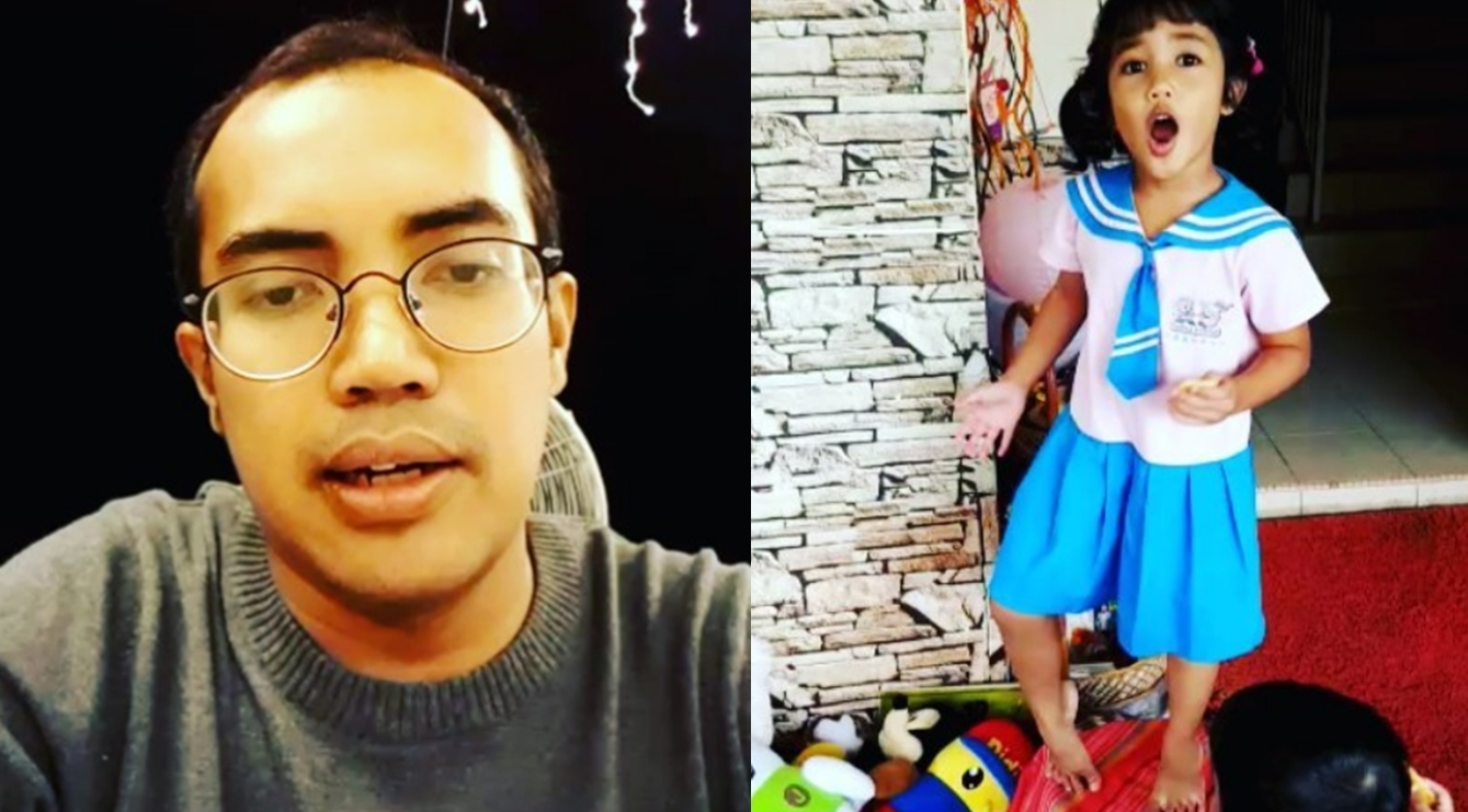 ezad lazim jual baju sekolah kerana anak