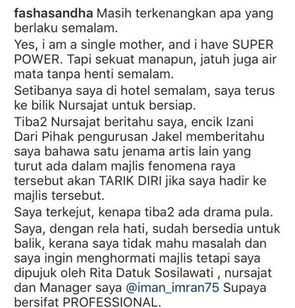 fasha sandha dedah dihalau di fenomena aidilfitri 2017 1