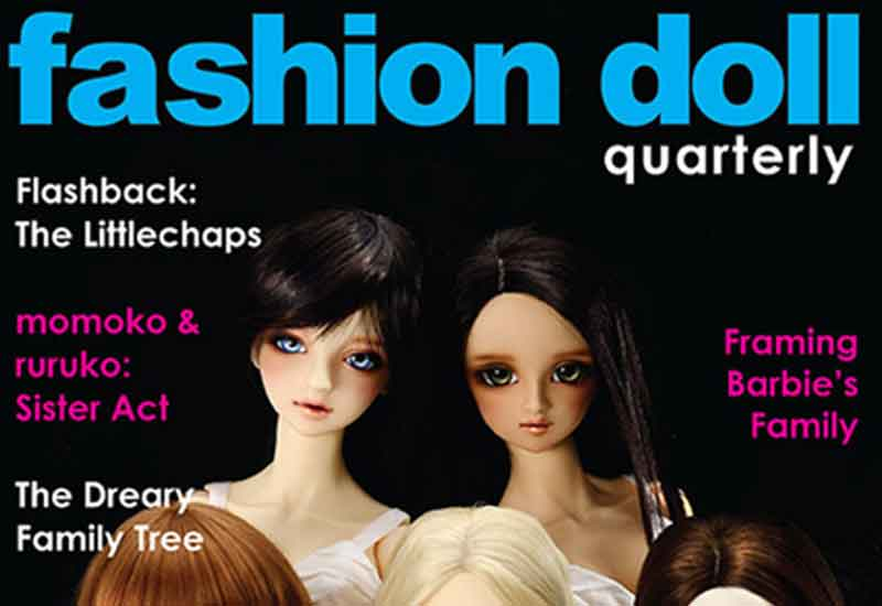 fashion dolls quarterly majalah aneh