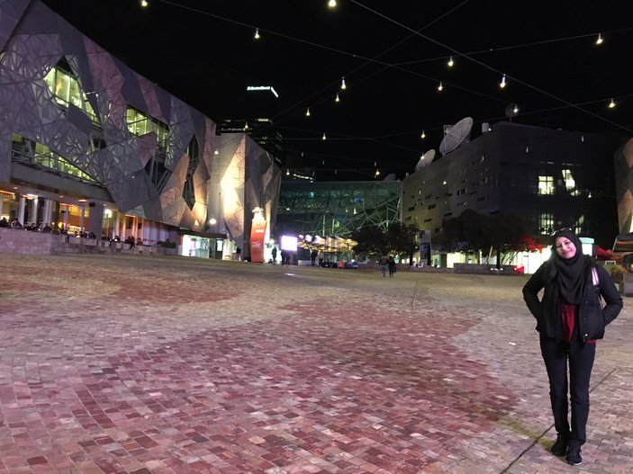 federation square night itinerary melbourne