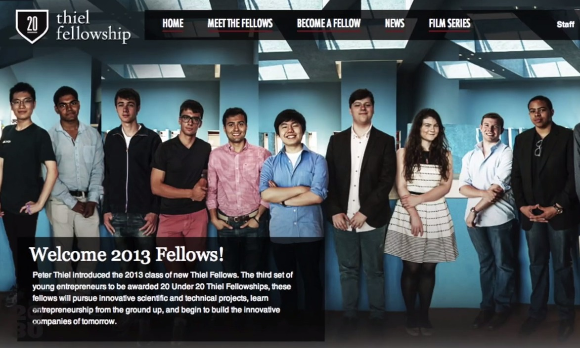 fellowship thiel