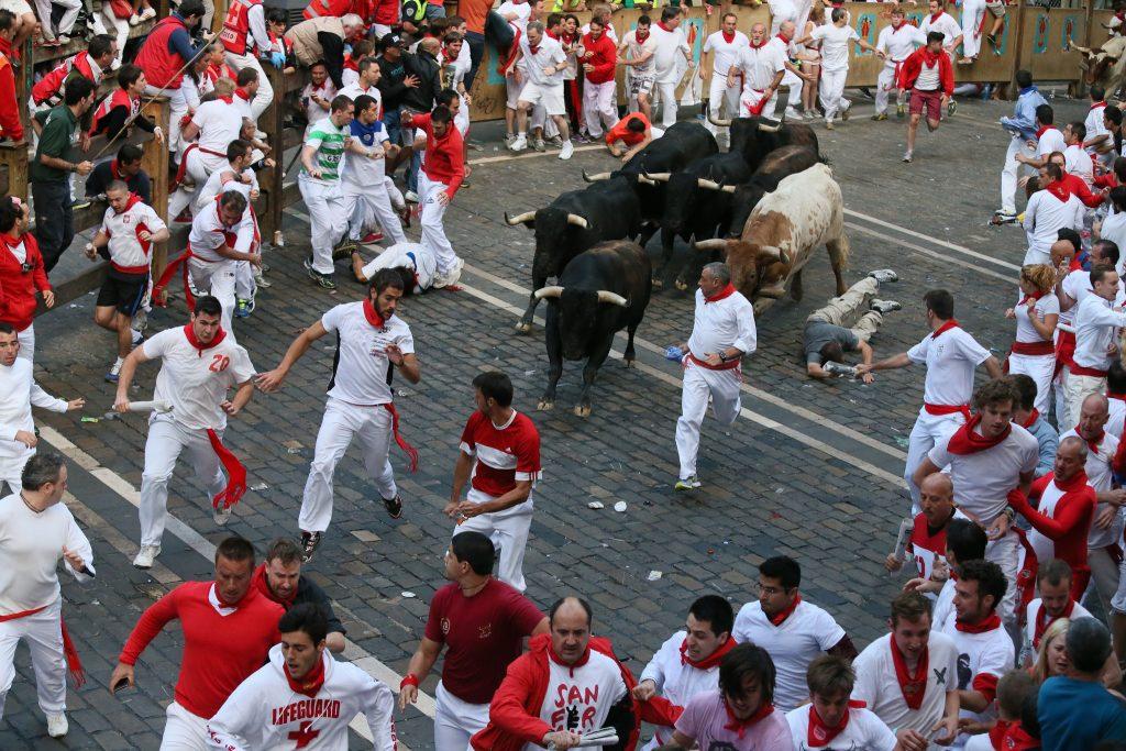 festival larian lembu jantan di pamplona 474