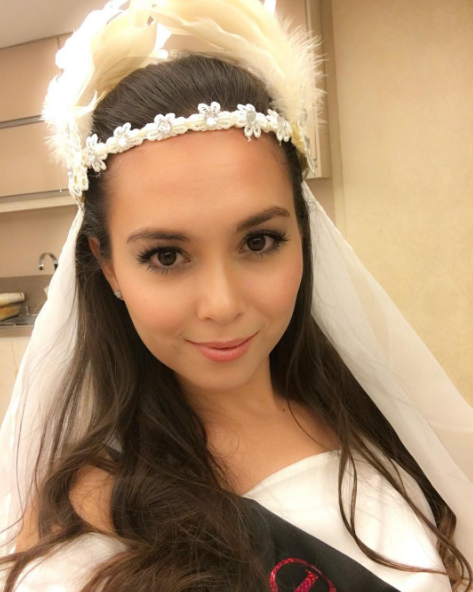 fesyen majlis bridal shower siti saleha dikecam 2