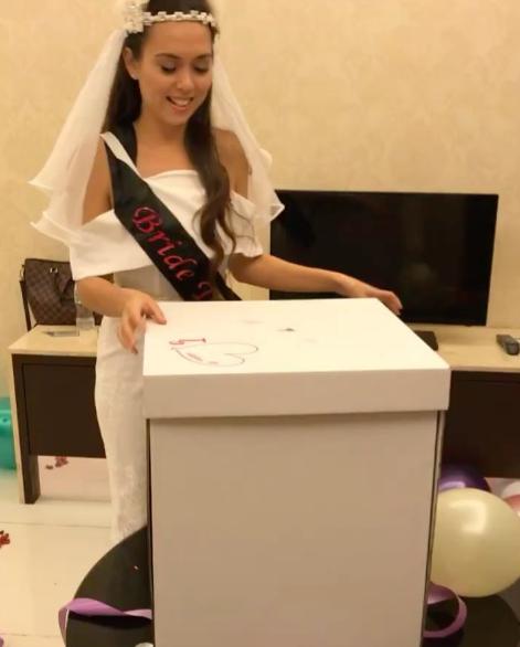 fesyen majlis bridal shower siti saleha dikecam 3