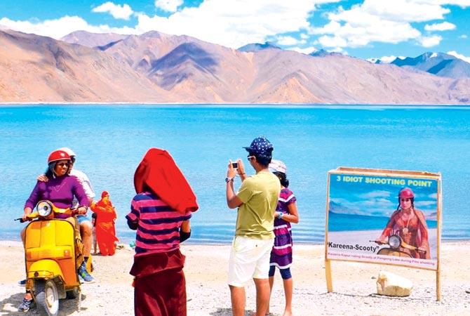 filem 3 idiots di ladakh