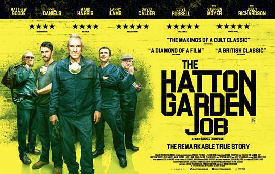 filem berdasarkan rompakan hatton garden