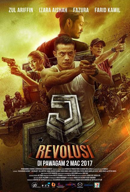 filem j revolusi 2017 poster
