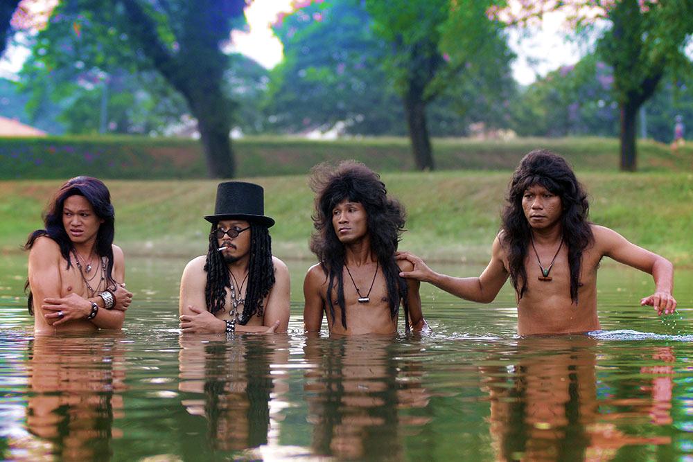 filem rock oo bro mandi tasik sungai
