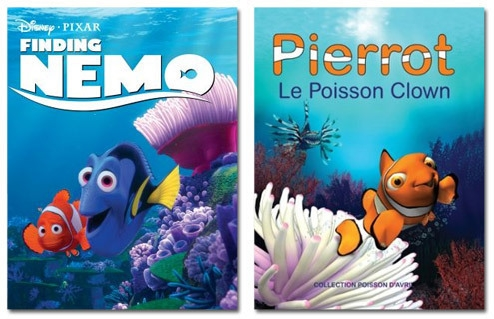 finding nemo dan pierrot the poison clown