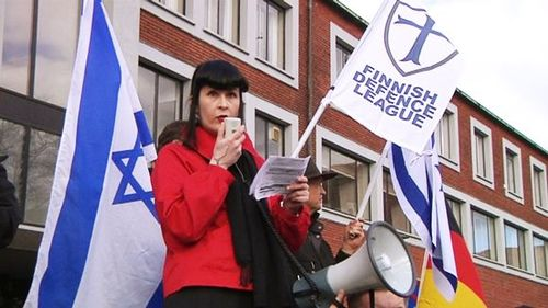 finland defence league pro israel