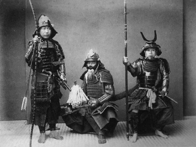 fizikal tubuh badan samurai