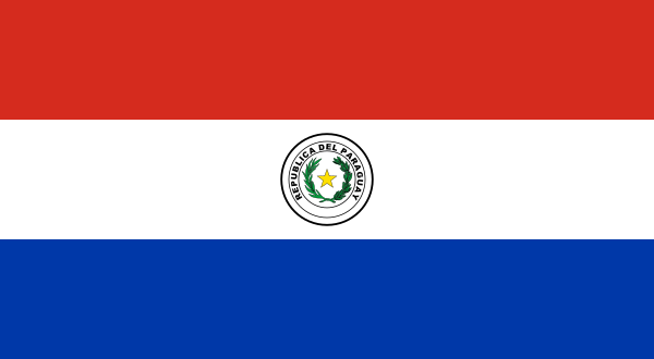 flag of paraguay 4nv64