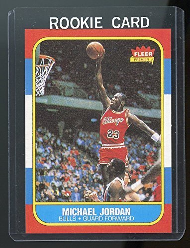 fleer rookie card michael jordan