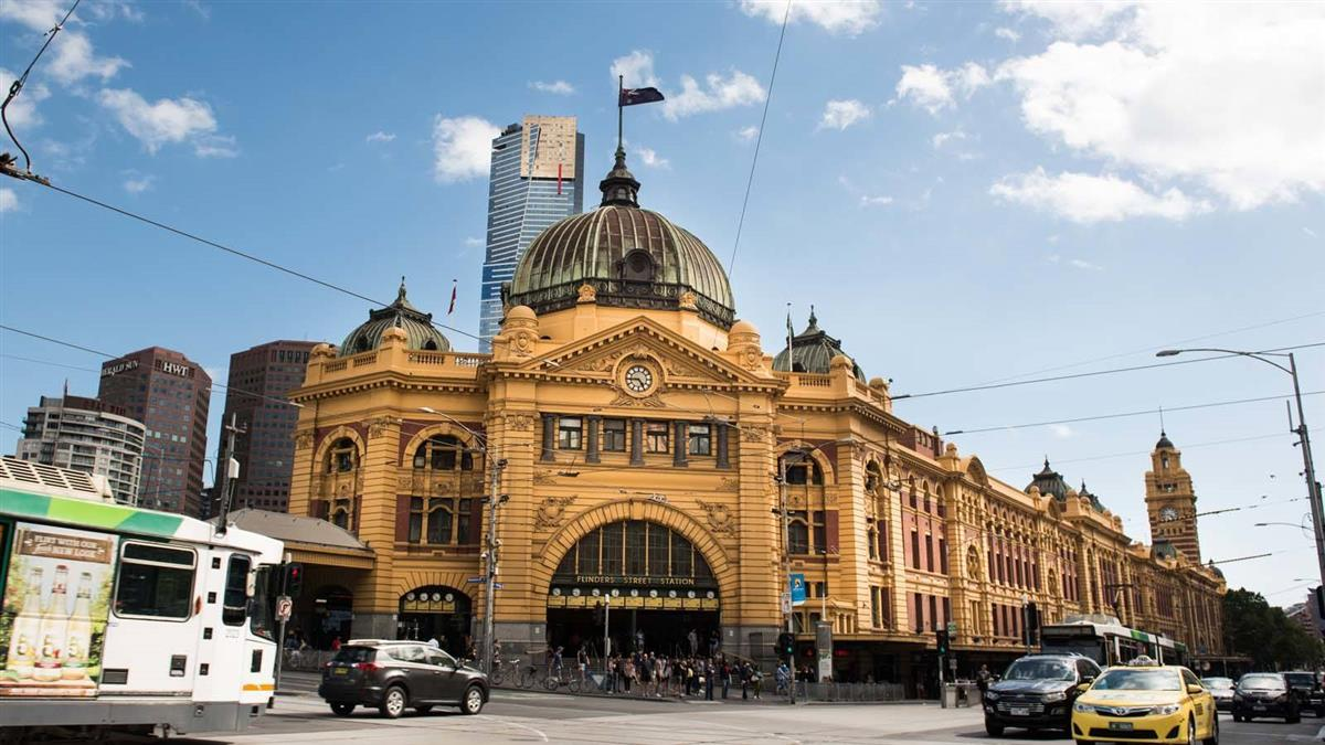 flinders street station itinerary melbourne