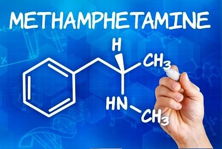formula kimia methamphetamine