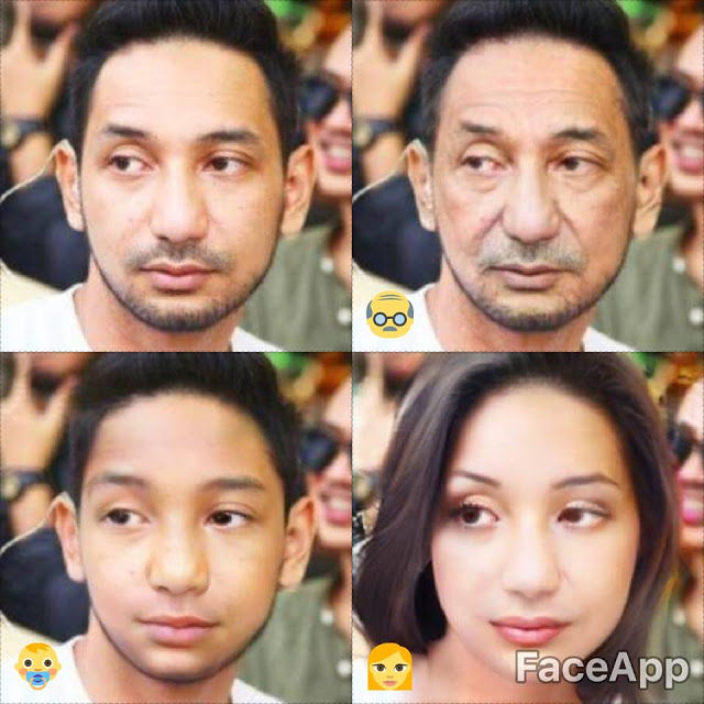 foto demam aplikasi faceapp melanda selebriti lelaki 12
