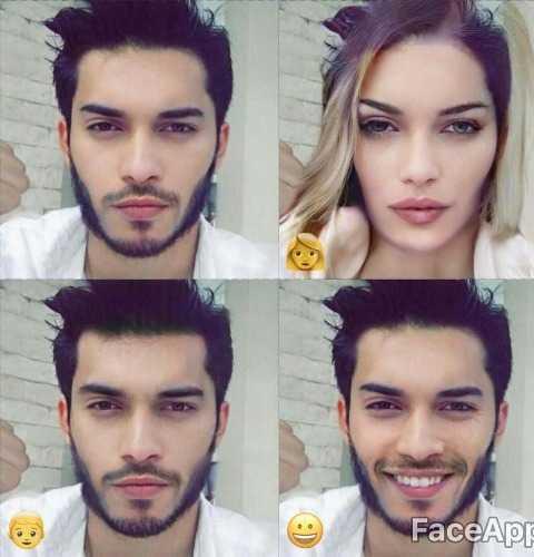 foto demam aplikasi faceapp melanda selebriti lelaki 2