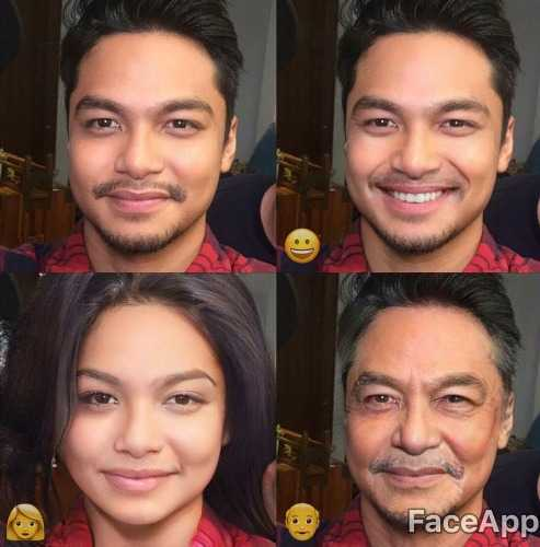 foto demam aplikasi faceapp melanda selebriti lelaki 3