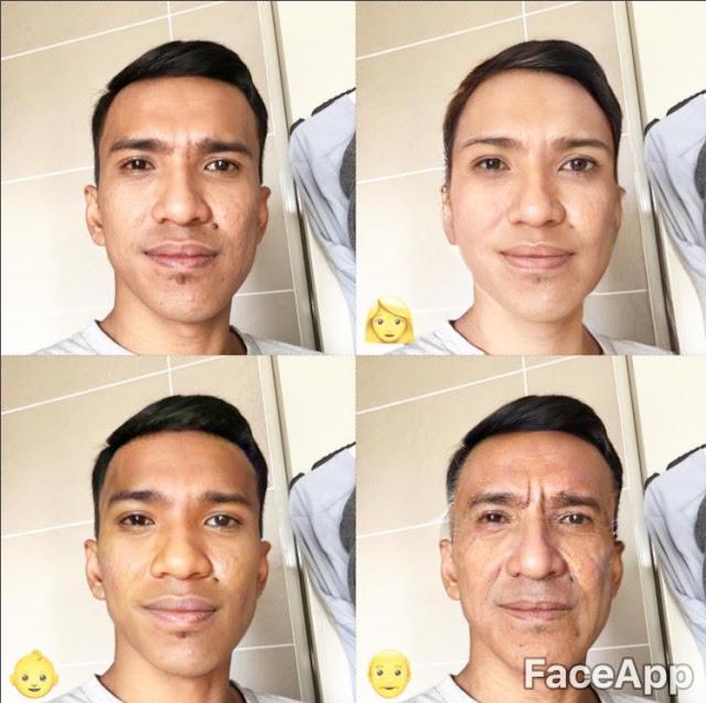 foto demam aplikasi faceapp melanda selebriti lelaki 4