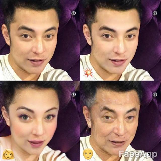 foto demam aplikasi faceapp melanda selebriti lelaki 6