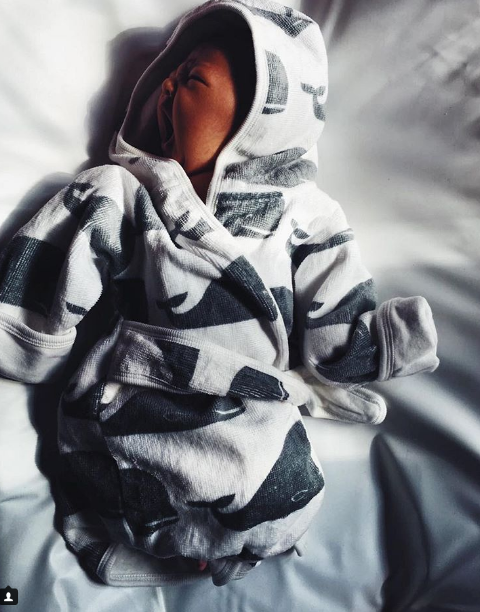 foto foto comel anak kedua syarif sleeq netizen geram kecil kecil dah handsome 8
