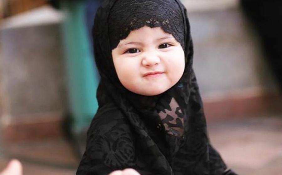 foto foto keletah aaisyah dhia rana dan lara alana di pagi raya cuit hati netizen 1
