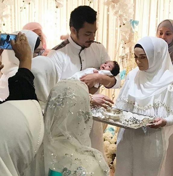 foto foto majlis aqiqah anak syamsul yusof dan puteri sarah liyana 4
