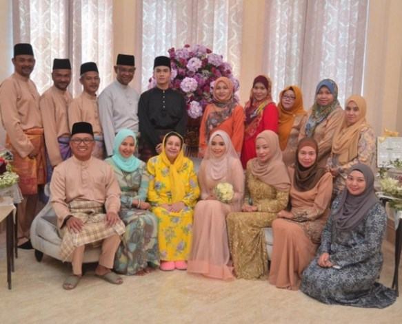 foto foto majlis pernikahan ummi nazeera 10