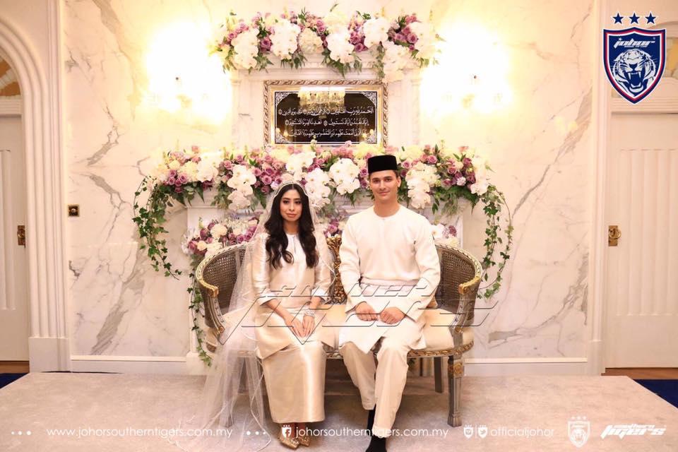 foto foto majlis pertunangan dan pernikahan tunku tun aminah 1