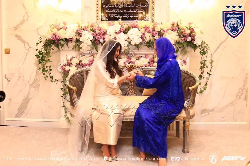 foto foto majlis pertunangan dan pernikahan tunku tun aminah 12