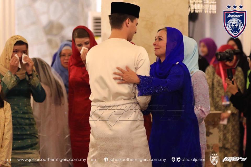 foto foto majlis pertunangan dan pernikahan tunku tun aminah 13