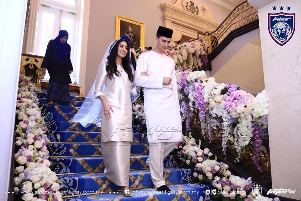 foto foto majlis pertunangan dan pernikahan tunku tun aminah 6