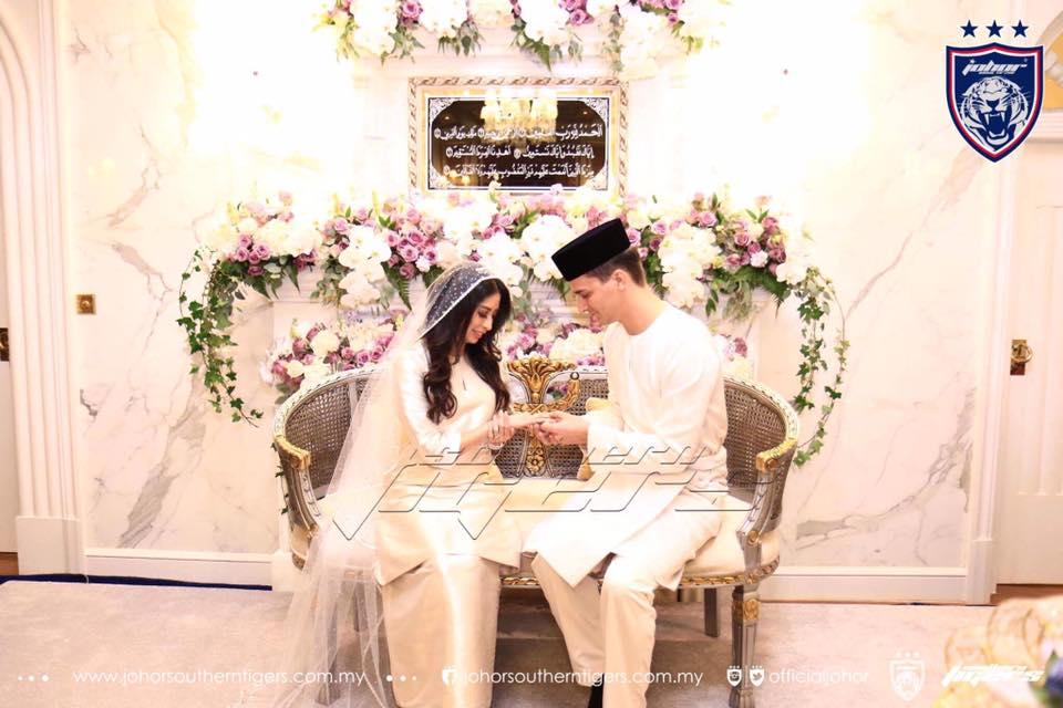foto foto majlis pertunangan dan pernikahan tunku tun aminah 7