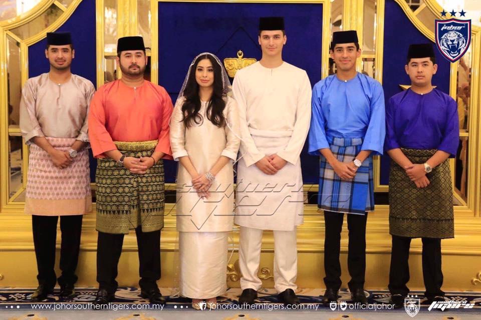 foto foto majlis pertunangan dan pernikahan tunku tun aminah 8