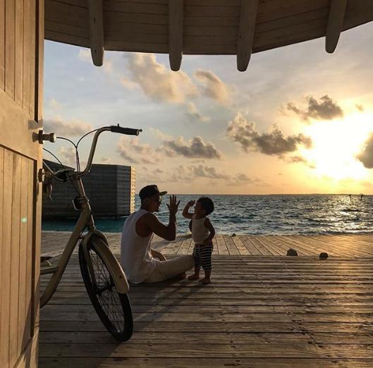 foto foto percutian mewah hairul azreen sekeluarga di maldives 12