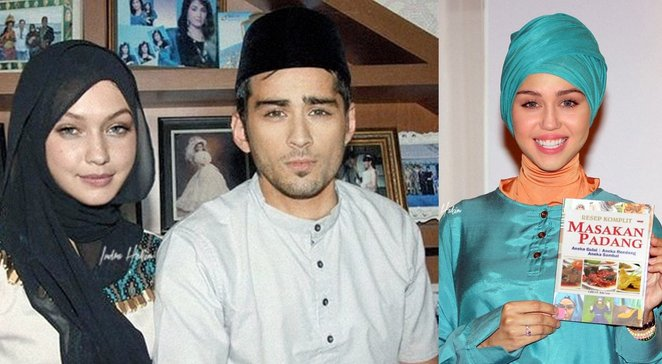 foto foto suntingan photoshop 10 artis hollywood berhijab cuit hati netizen 1