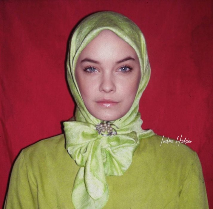 foto foto suntingan photoshop 10 artis hollywood berhijab cuit hati netizen 10