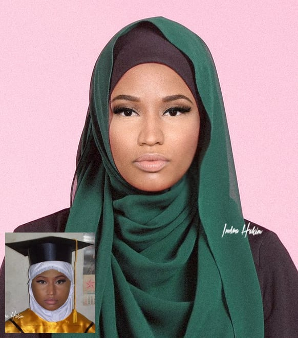 foto foto suntingan photoshop 10 artis hollywood berhijab cuit hati netizen 5