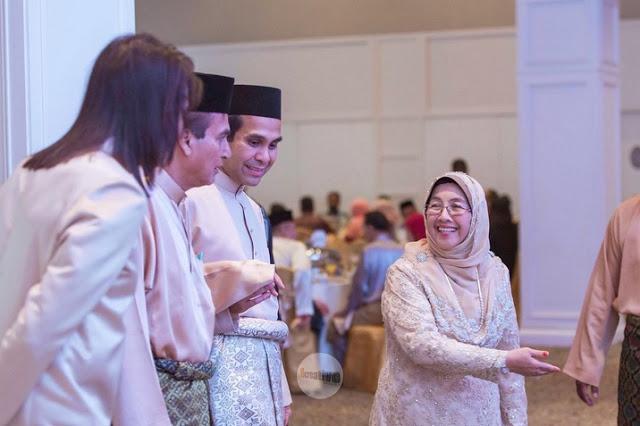 foto majlis resepsi sharnaaz ahmad dan isteri di penang 10