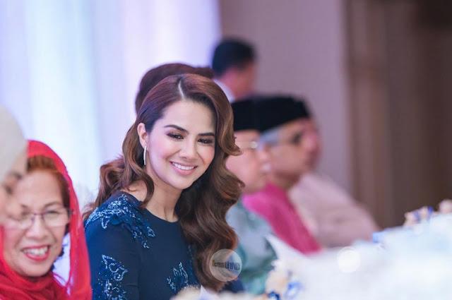 foto majlis resepsi sharnaaz ahmad dan isteri di penang 11
