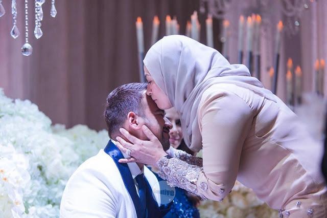 foto majlis resepsi sharnaaz ahmad dan isteri di penang 7