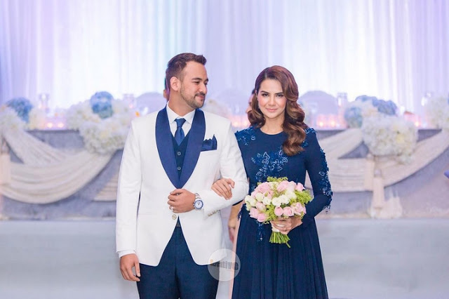 foto majlis resepsi sharnaaz ahmad dan isteri di penang 8